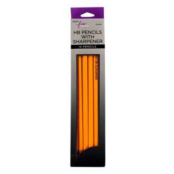 HB The Fine Touch Graphite Pencils - 12 Piece Set